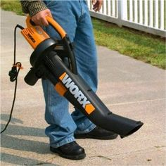 A Look At The Worx Wg500 Tri Vac Leaf Er Mulcher Va