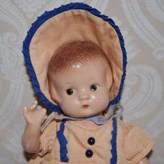 Effanbee Composition Patsyette Doll - Lynette Gross Antique Dolls, LLC #dollshopsunited