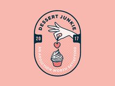 Logo Concept - Dessert Cafe designed by soniaydesigns. the global community for designers and creative professionals. Dessert Logo, Baking Logo Design, Cake Logo Design, Sweet Logo, Cafe Branding, Cafe Logo, Creative Logo, Pastry Logo, Coffee Shop Logo