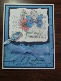 Mom's birthday card by Rainy daze - Cards and Paper Crafts at Splitcoaststampers   :))