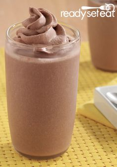 Chocolate Peanut Butter Banana Smoothies is the perfect summertime treat.
