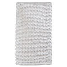 White Plush Bubble Bath Mat at #Kirkland's. #pinitpretty. A couple of these would be great.