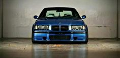 BMW E36 3 series blue
