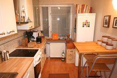 pientä mutta suurta: My former home, kitchen