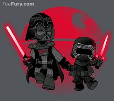 """""""Darth Grandpa"""" by DoOomcat is available now in #TeeFury's gallery!"""