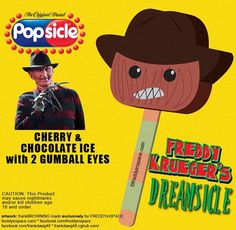 Check out these Horror Popsicles, Including Freddy, Jason, Critters, and Michael Myers - Daily Dead Latest Horror Movies, Chloe, Funny Horror, Video X, Halloween Horror, Halloween Sayings, Funny Halloween, Halloween Stuff, Movie Memes
