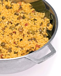 <i>Arroz con Gandules</i> is one of Puerto Rico's most beloved rice dishes. This recipes comes from Wilo Benet, chef of Pikayo in San Juan.
