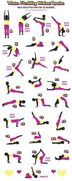 Pilates and yoga= quite an effective workout! Pair a few moves into supersets for maximum effectiveness.