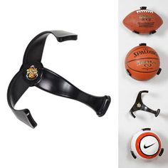 Ball Claw : Sports Ball Holder - garage storage/ or kids room when there into sports <3