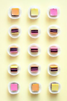 Make the cutest licorice allsorts-inspired gelatin squares for your Halloween gathering!
