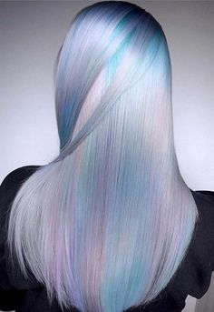 100 Fantastic Unicorn Hair Color Trends and Styles in 2018