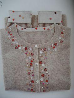 Laura Knosp - embellished sweater