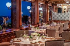 World's most extravagant restaurants: La Pergola in Rome, Italy