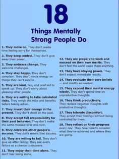 Sep 2016 - Mentally strong people have healthy habits. They manage their emotions, thoughts, and behaviors in ways that set them up for success in life. Mentally Strong, Self Improvement Tips, Life Advice, Fitness Quotes, Best Self, Self Development, Self Help, Life Lessons, Life Skills
