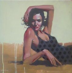 Lovely paintings by American artist Michael Carson. Great moods captured here. Graphic Artist, Contemporary Artists, Figure Painting, College Art, Image, Female Art, John Singer Sargent, Figurative Artists, Portrait Art