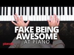 Have you ever wanted to play the piano, but didn't want to learn? I'm going to show you how to fake being awesome at the piano, so you can . Piano Lessons For Kids, Piano Lessons For Beginners, Music Lessons, Vocal Lessons, Guitar Lessons, Music Chords, Music Sing, Sing Sing, Reggae Music
