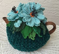 NEW! Handmade Tea Cozy from Ukrainian Designer Gorgeous Please, contact me with any questions   eBay!