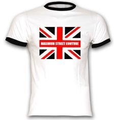Buy the t-shirt MAXIMUM BRITAIN-RED, FASHIONABLY HIP ORIGINAL STREET WEAR...DARING,ABSTRACT,COLORFUL ORIGINAL DESIGN WORKS INVOKING RETRO,CLASSIC AND MODERN TRENDS.SAY IT LOUD...TELL IT PROUD....SHOW THEM YOUR COLOURS. |TEE SHIRT COMBOUTIQUE : printing t shirt, custom t-shirt, design your own t-shirt