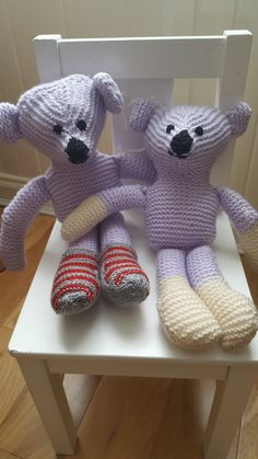 Handknitted by connys knitwear Knitwear, Dinosaur Stuffed Animal, Teddy Bear, Toys, Animals, Activity Toys, Animales, Tricot, Animaux