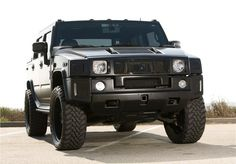 Matte black Hummer H2 This would be cool as a mom of 3 boys.
