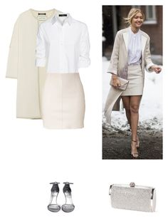 """""""Get the Look"""" by dezaval ❤ liked on Polyvore featuring By Malene Birger, Steffen Schraut, Stuart Weitzman and Dsquared2"""