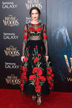 Best Actress in a Motion Picture Musical or Comedy: Emily Blunt, Into the Woods // 72nd annual Golden Globes Awards