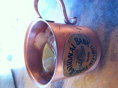Moscow Mule...Montana on my mind
