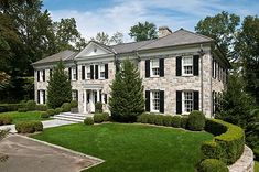11,000 Square Foot Georgian Colonial In Greenwich, CT | Celebrity Houses and Mansions, Rich People Mansions & African Mansions for Sale !!!!