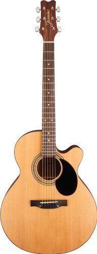 Jasmine S34C NEX Acoustic Guitar - http://www.learntab.com/guitar-deals/jasmine-s34c-nex-acoustic-guitar/