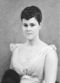 Miss Alva Erskine Smith (later Mrs. William Kissam Vanderbilt, then Mrs. Her husband built Marble House for her. Mother of Consuelo, Duchess of Marlborough. Two sons, William Kissam Vanderbilt II, Harold Sterling Vanderbilt.