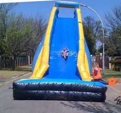 Giant Waterslide for Hire Ideal for events or school fun days