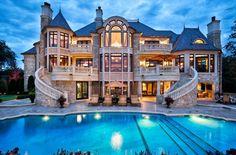 Dream Home #mansion #outsidepool #hugebackyard