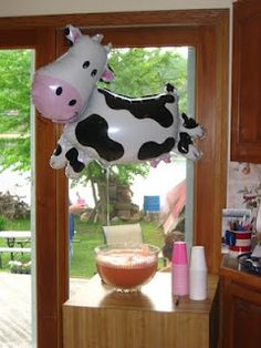 cow themed birthday party ideas