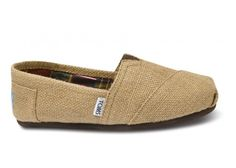 Why the hell can't TOMS be 20 bucks anymore?!?  Ugh!!  Natural Burlap Women's Classics   TOMS.com #toms