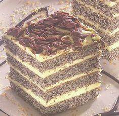 Poppy Cake, Vanilla Cake, Tiramisu, Breakfast Recipes, Food And Drink, Sweets, Bread, Healthy Recipes, Cooking