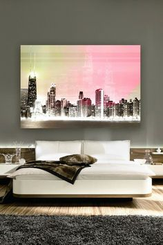 Oliver Gal Bright Lights Canvas Art by Oliver Gal Gallery on @HauteLook I looooooove this! <3