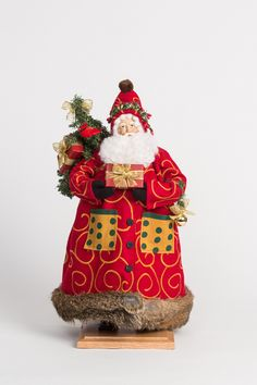 Vietri Old St. Nick with Regal Coat Old World Christmas Ornaments, Christmas Tea, Christmas Holidays, Christmas Decorations, Holiday Decor, Christmas Presents, Merry Christmas, Party Accessories, Decorative Accessories