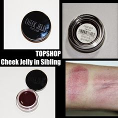 MichelaIsMyName: TOPSHOP Cheek Jelly in Sibling REVIEW