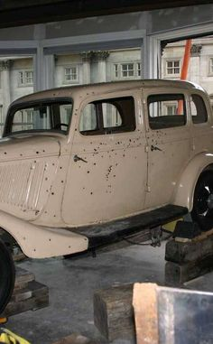 Bonnie and Clydes Death Car | Travel | Vacation Ideas | Road Trip | Places to Visit | Primm | NV | Historic Site | Automotive Attraction | Other Historical | Offbeat Attraction
