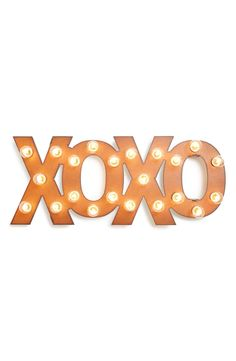XOXO | Marquee lights
