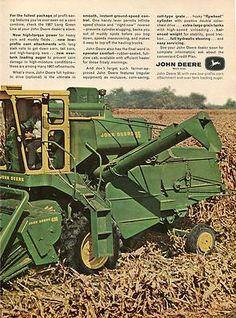 John Deere 95 combine