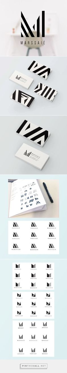Excellent use of bold lines and graphic details for personal identity suite, branding, and logo design. Corporate Design, Brand Identity Design, Graphic Design Branding, Business Card Design, Typography Design, Corporate Branding, Stationery Design, Design Agency, Creative Business