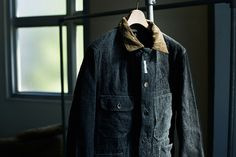 Engineered Garments coverall jacket at Coverchord.