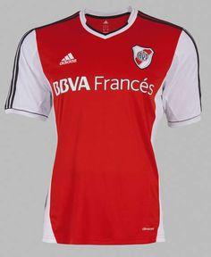 El frente de la nueva camiseta de River. Football Kits, Football Soccer, Soccer Jerseys, Rugby, Shirts, Adidas, Retro, Sport, Club America