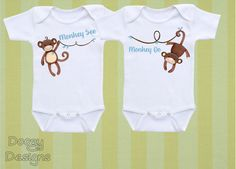 Twin Baby Clothes, Twin Baby Gifts, Twin Baby Boys, Boy Girl Twins, Twin Babies, Cute Twins, Cute Babies, Twin Outfits, Unisex Baby