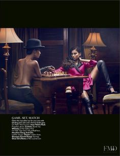 Dangerous Liaisons in Vogue India with Kelly Gale,Nidhi Sunil wearing Chanel,Moschino Cheap and Chic,Oscar by Oscar de la Renta - Fashion Editorial   Magazines   The FMD #lovefmd