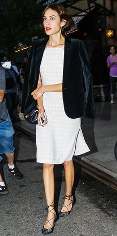 Look of the Day - June 22, 2014 - Alexa Chung