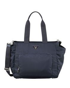Vela Baby Bag, Blue (Bleu) - Prada