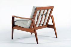 Solid Teakwood Sofa and Armchairs by Arne Wahl Iversen for Komfort, Denmark 2