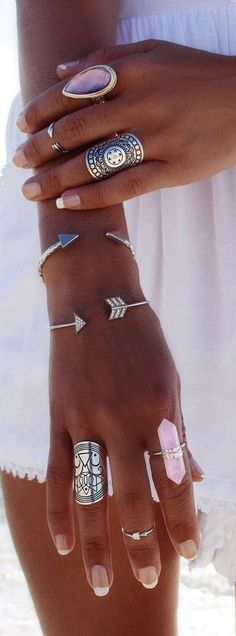 ≫∙∙boho jewellery ∙∙≪     •Bohemian / Summer Fashion Style Inspiration / Rings  / Beach Babes /PhotoshootConcepts / Fashion / Temp Tatts / LittleBlueBow /  Photography / finger jewels / Summer / Boho / nice/ Gyspy / Gems / Gypsy #Gypsy  #Ideas •   For More Follow Me On:  [facebook url]:  /littlemissalicks [instagram]: alickss_lou [snapchat]: aalicks  [tumblr]: aalicks  [twitter]: aalicks_louisew  [profile:] https://www.starnow.com/alickswoollett1992   Image Credits:   vv